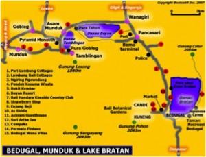 Munduk-map