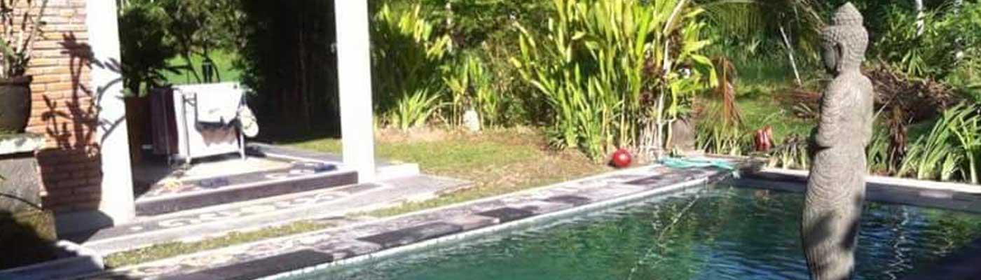Garden House & Pool